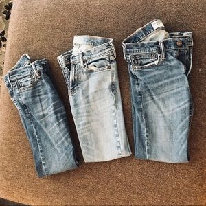 Boys Abercrombie and Fitch Jeans Bundle!